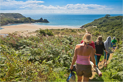 walking-in-the-gower