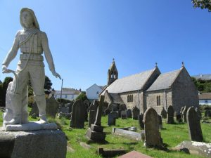 port eynon holiday cottages - local church